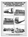 ILLUSTRATED TREASURY OF MODERN FREIGHT CARS of NORTH AMERICA